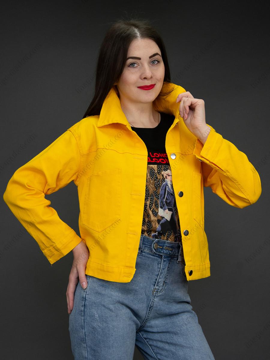 Джинсовая куртка м.08-2