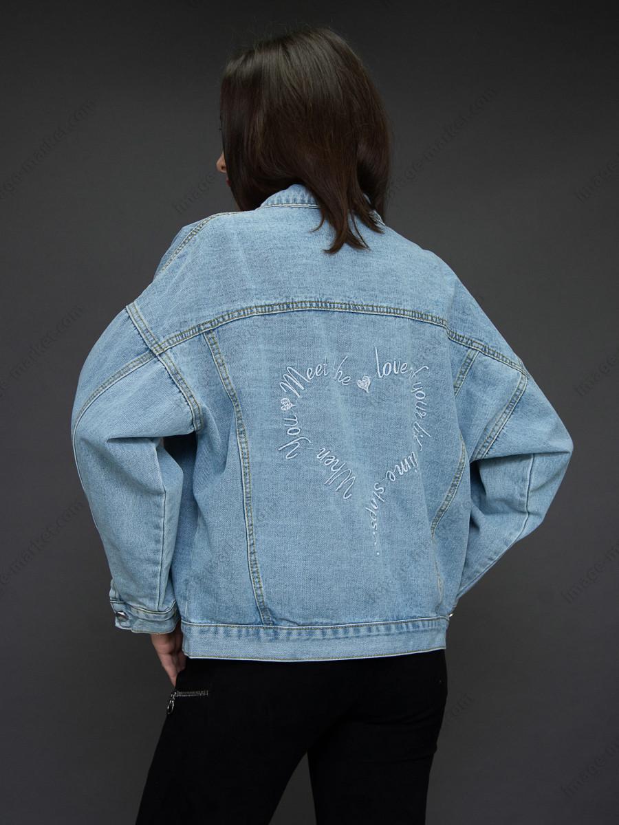Джинсовая куртка м.20F6