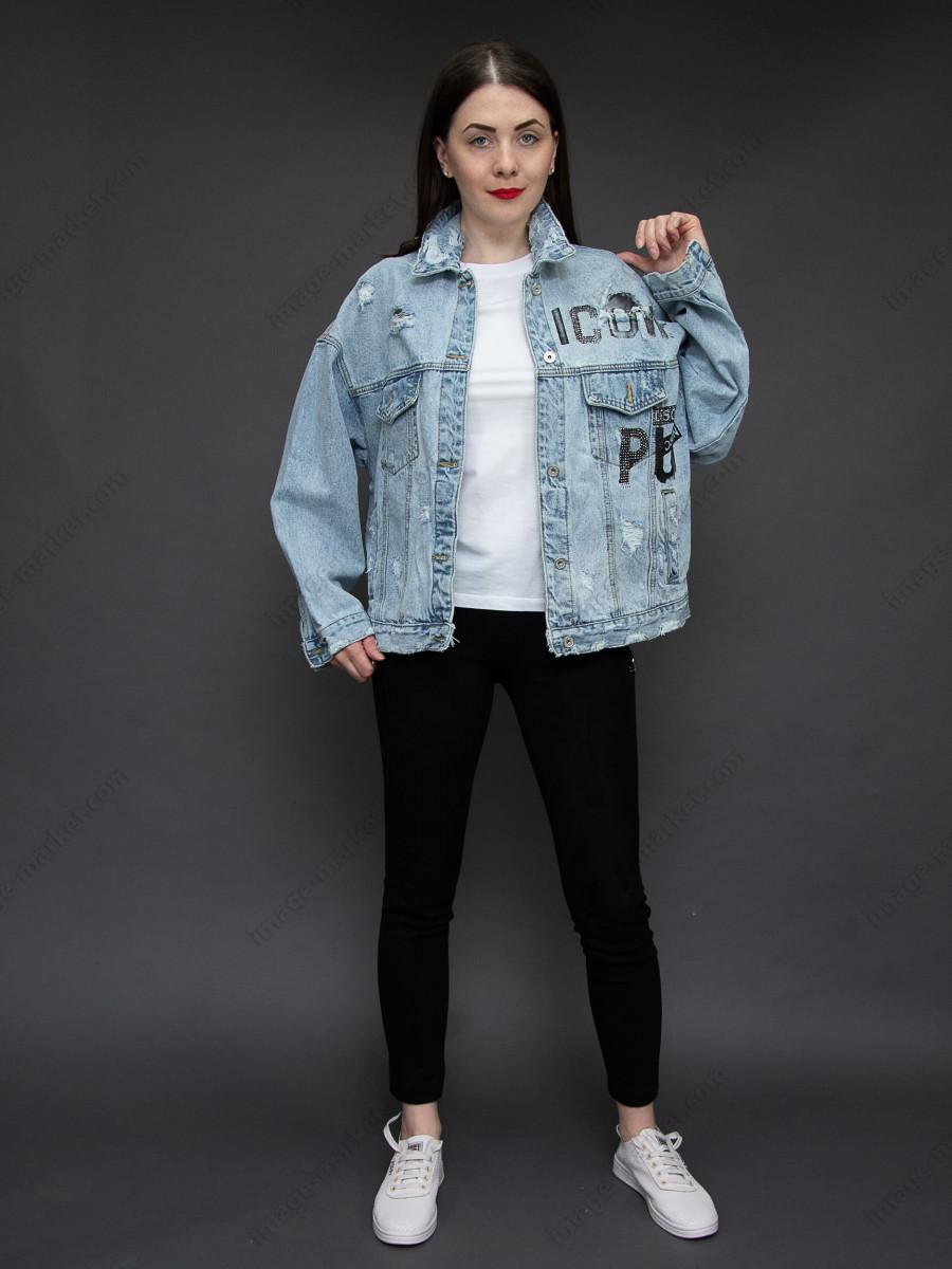 Джинсовая куртка м.33026