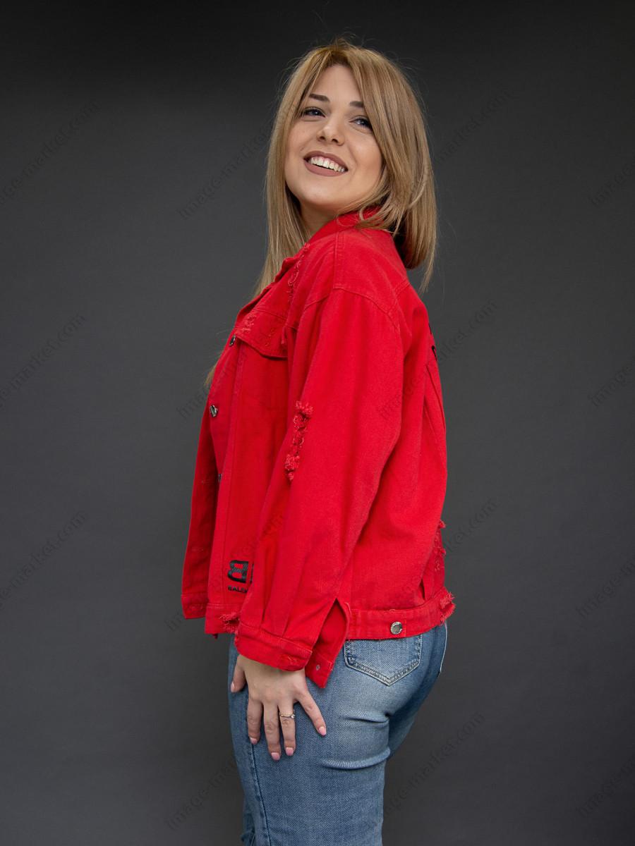 Джинсовая куртка м.9715