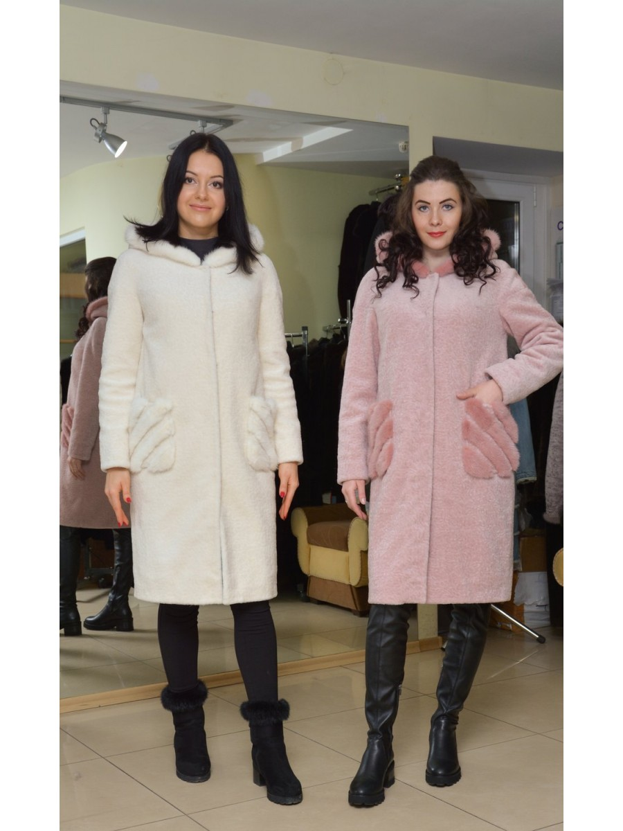 Меховое пальто 8868-1